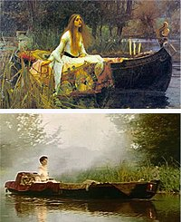 'The Celts' video was inspired by 'The Lady of Shalott' by John William Waterhouse
