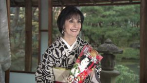 Enya in Kyoto, Japan, 14.12.2015