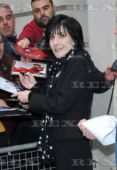 Enya at the studios of BBC 2 Radio, 20.11.2015