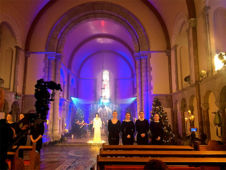 Enya with Wired Strings in the Honan Chapel in the Cork University, November 2016
