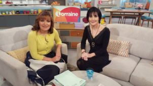 Enya on Lorraine, ITV in London, 19.11.2015