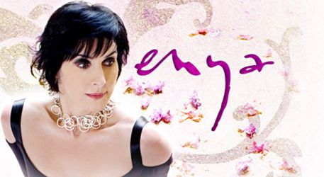 Header of Enya's iTunes page.