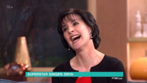 Enya on This Morning, ITV, UK; 2.3.2016
