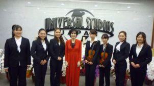 Enya at Universal Studios Japan, 13.12. 2015