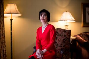 Enya photographed in the Intercontinental, Ballsbridge, Dublin.