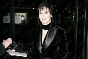 Enya appears on the Late Late Show on February 6, 2009 in Dublin, Ireland