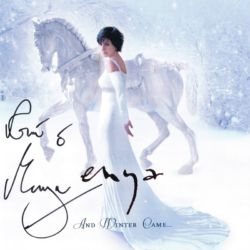 And Winter Came (signed) - Enya signed 200 copies of the album in support of a Taiwanese charity project. Photo by Simon Fowler. Scanned by enya.sk.