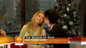 Enya on Today Show, NBC News, USA; 19.12.2008