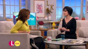 Enya on Lorraine, ITV, 19.11. 2015