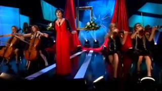 Enya at  Late Late Show, Ireland; 8.12.2006