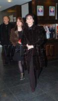 Enya arriving at  Late Late Show, Ireland; 8.12.2006