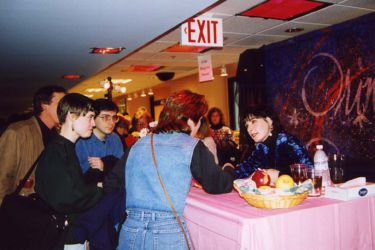 CD signing in Manhattan, New York; 13.12.199