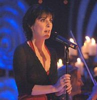 Enya performing Amarantine on Top of the Pops, UK; 4.12.2005
